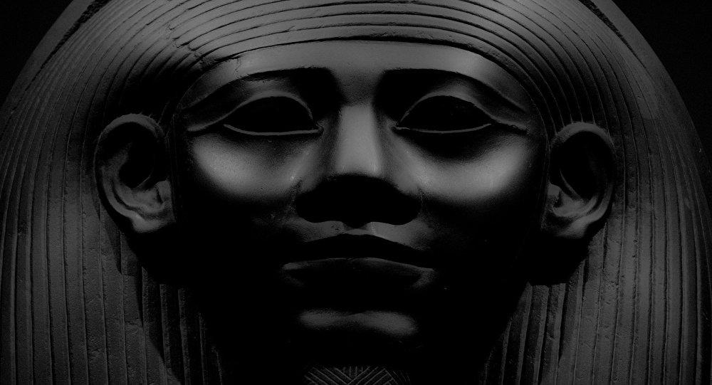 Uma múmia egípcia