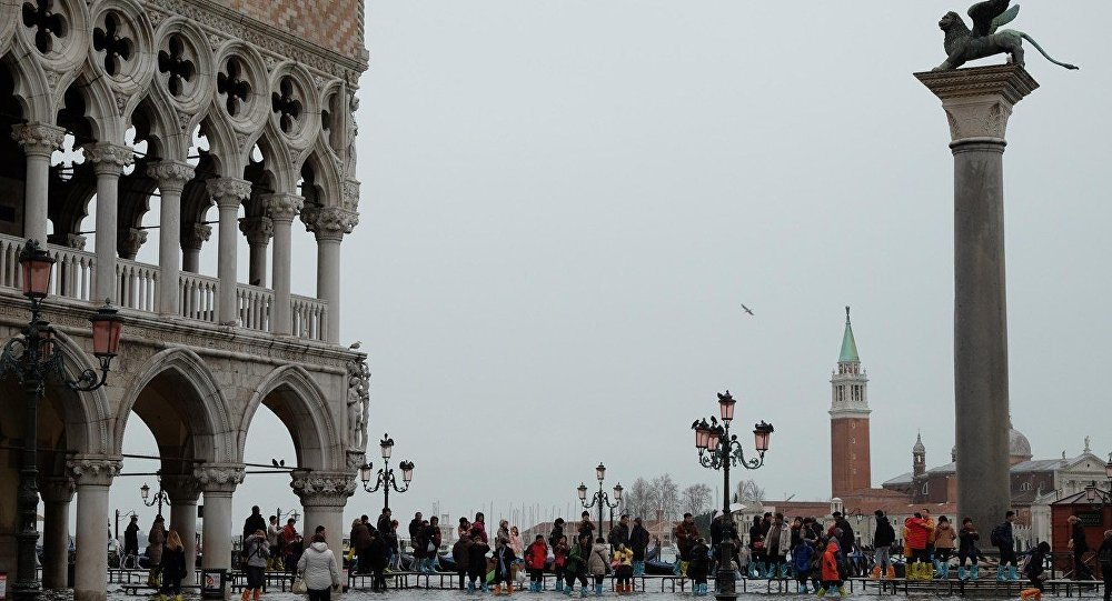 Veneza, Itália, Praça de São Marcos