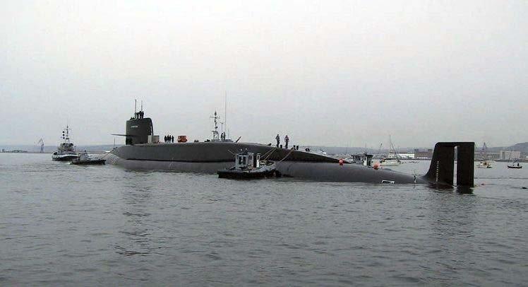 Le Redoutable, o primeiro submarino com mísseis balísticos da Armada Francesa