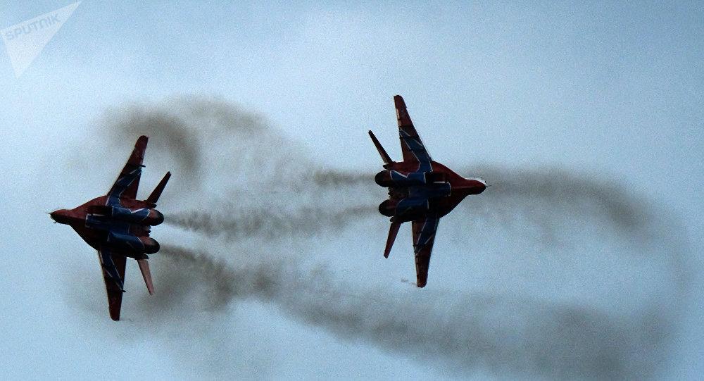 Caças MiG-29 russos