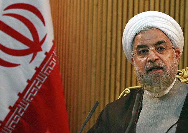 Hassan Rouhani, presidente do Irã