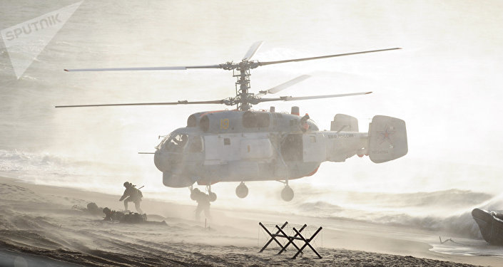 Exercícios russo-bielorússos Zapad (foto de archivo)