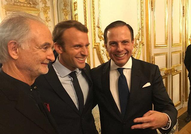 João Doria e Macron