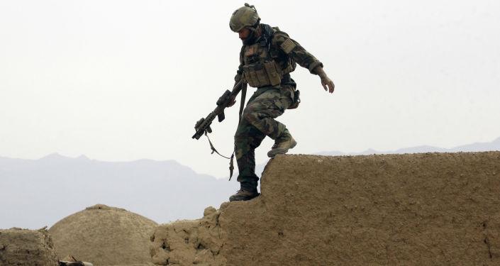 Militar norte-americano no Afeganistão, foto de arquivo