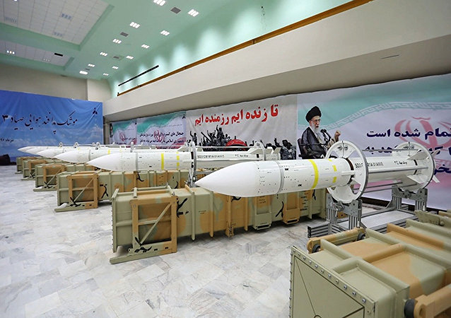Sistema de defesa antiaérea de mísseis do Irã