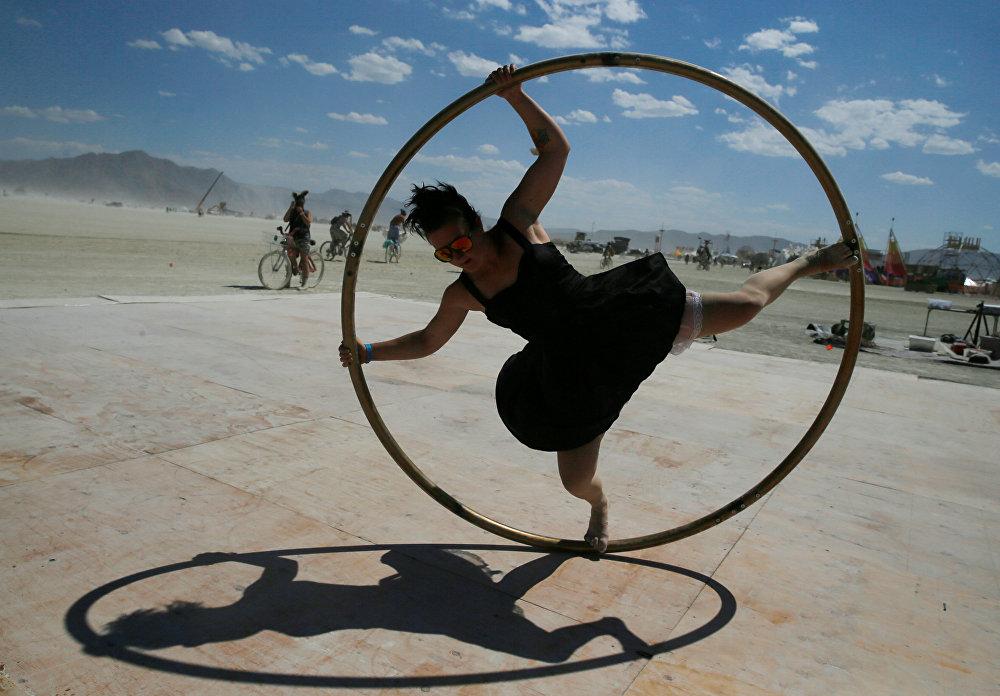 A primeira edição do Burning Man aconteceu em 1986.