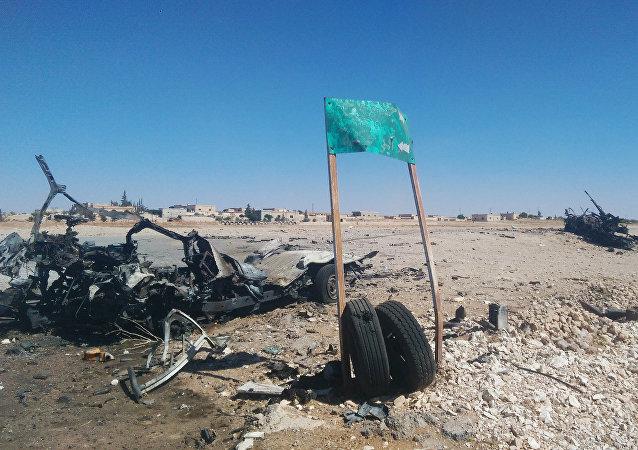 Há um mês e quatro dias, a cidade de Akerbat começava assim, ocupada então pelo Daesh
