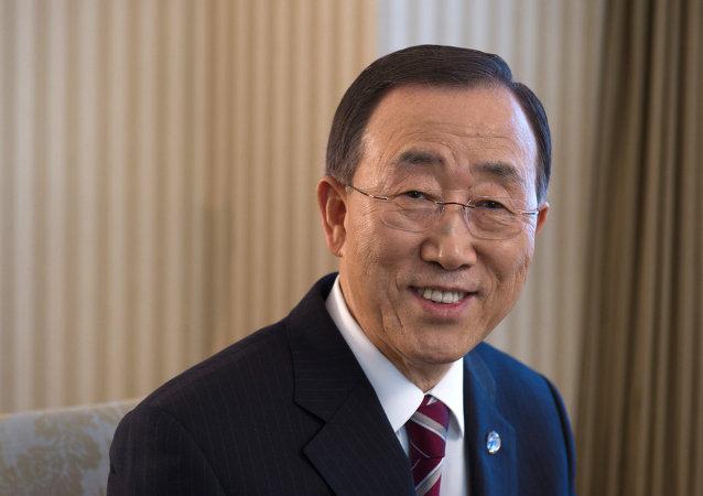Ban Ki-moon, secretário geral da ONU