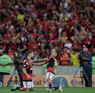 Flamengo x Cruzeiro pela final da Copa do Brasil 2017 no Maracanã