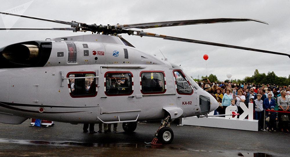 Ka-62 na exposição do equipamento aéreo (foto de arquivo)