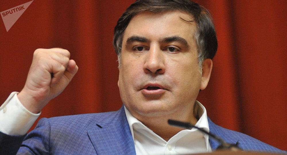 Mikhail Saakashvili, ex-presidente da Geórgia e ex-governador de Odessa