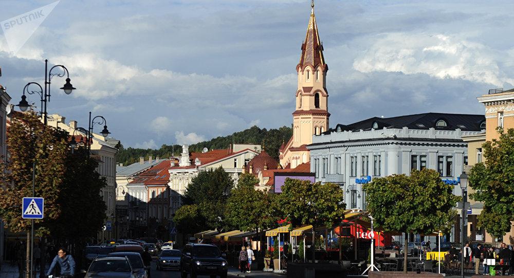 Vilnius, capital da Lituânia