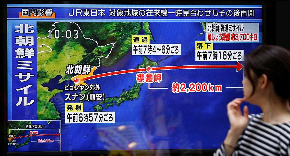 Coreia do Norte ameaça a Tóquio e Seul após novas sanções