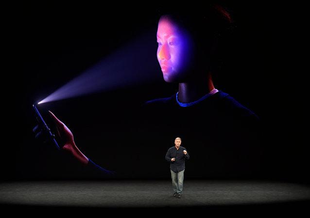 Apresentação do novo iPhone X da Apple em 12 de setembro de 2017