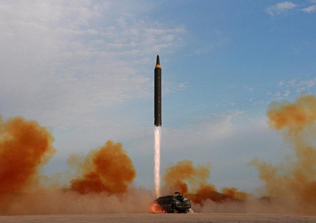Lançamento do míssil Hwasong-12, 15 de setembro, 2017