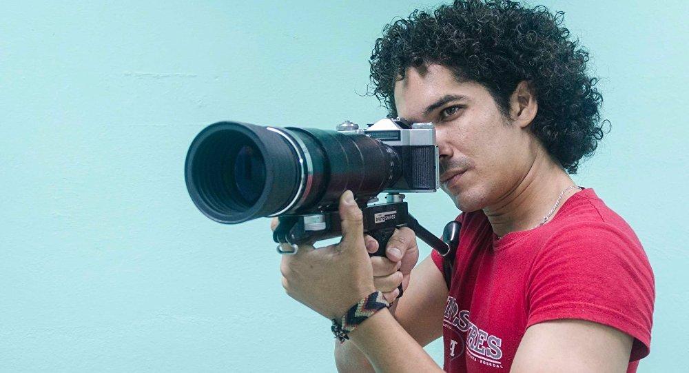 Yander Zamora, fotógrafo cubano