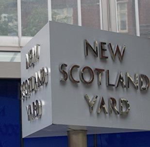 Sede da Polícia Metropolitana do Reino Unido, também conhecida como Scotland Yard, em centro de Londres (foto de arquivo)
