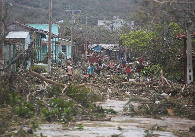 Consequências do furacão Irma em Cuba (foto de arquivo)