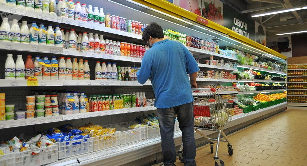 Supermercado na Ucrânia (foto de arquivo)