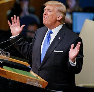 Discurso de Donald Trump na 72a Assembleia Geral da ONU em Nova York em 19 de setembro de 2017