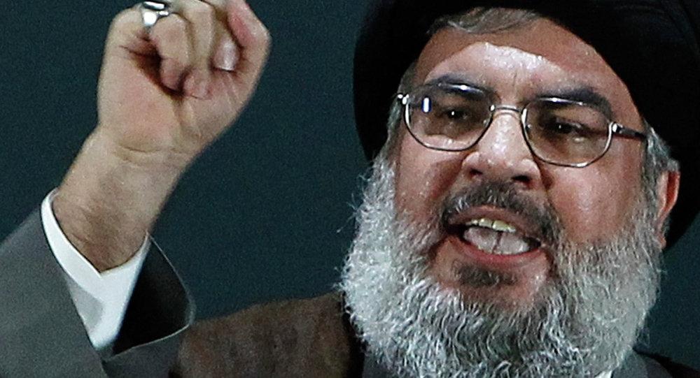 Líder do Hezbollah, Hassan Nasrallah