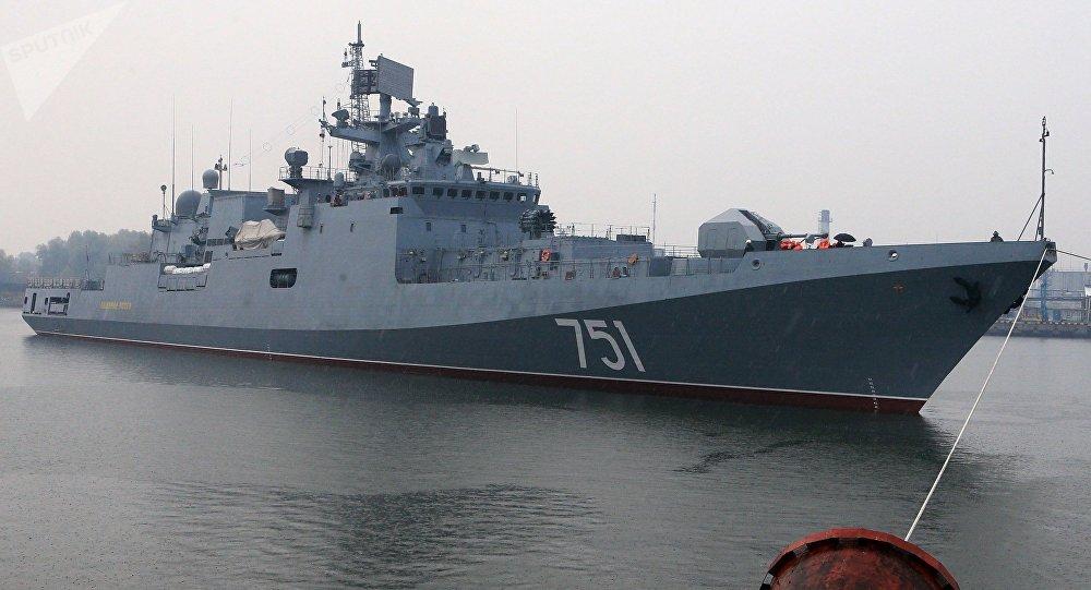 A fragata Almirante Essen (arquivo)