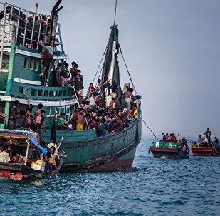 Refugiados Rohingya (foto de arquivo)