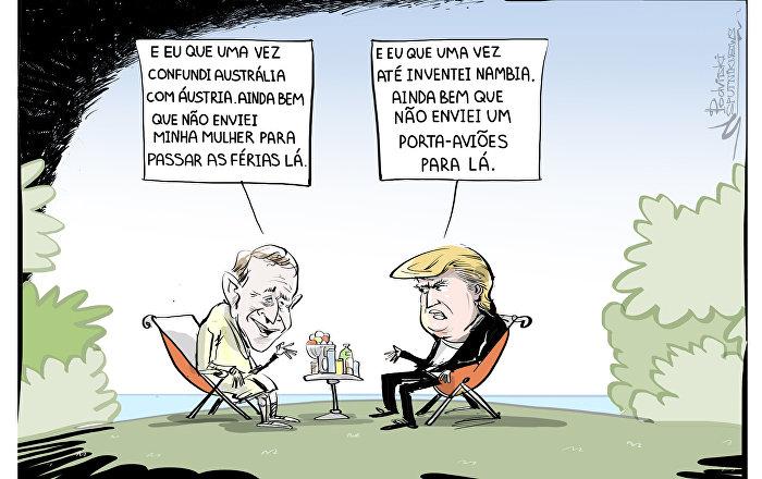 Fugir de Trump?