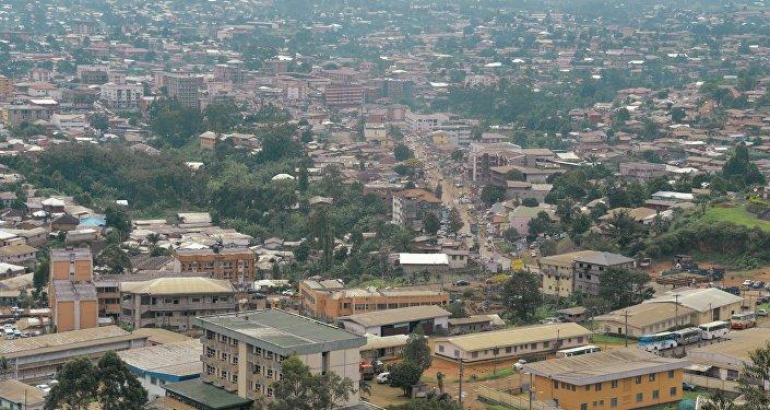 Cidade camaronesa de Bamenda, capital anglófona da província do Noroeste