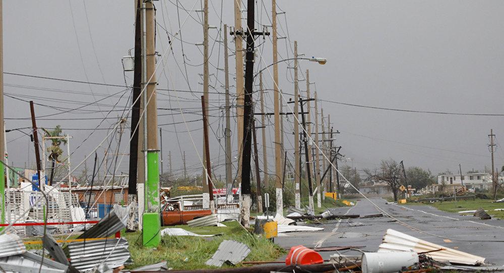 Furacão Maria em Porto Rico