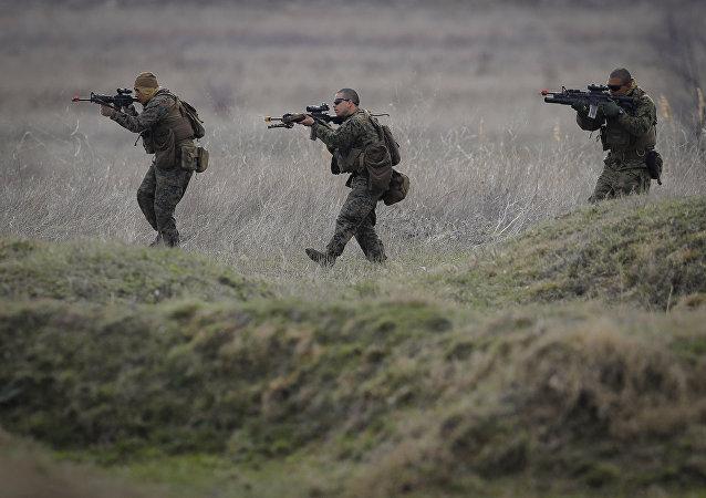 Homens da Marinha dos Estados Unidos.
