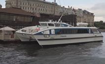 O novo catamarã russo Grifon, o primeiro navio civil que utiliza materiais compósitos
