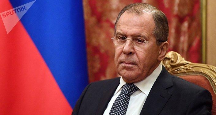 Ministro das Relações Exteriores da Rússia, Sergei Lavrov (foto de arquivo)