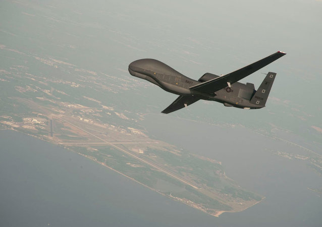 Drone norte-americano RQ-4 Global Hawk (arquivo)