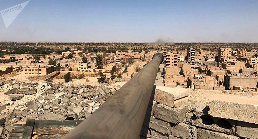 Situação em Deir-ez Zor