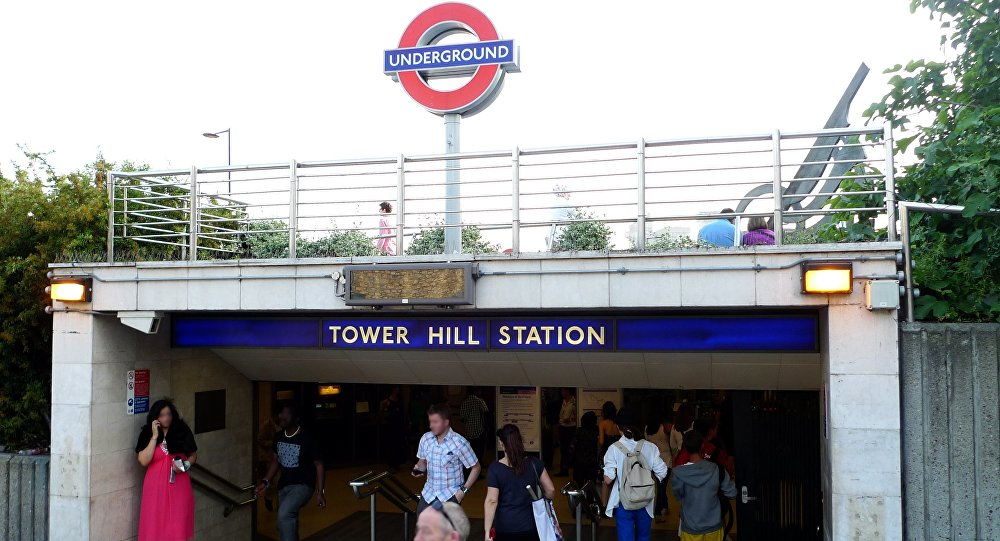 Estação Tower Hill do metrô de Londres (foto de arquivo)