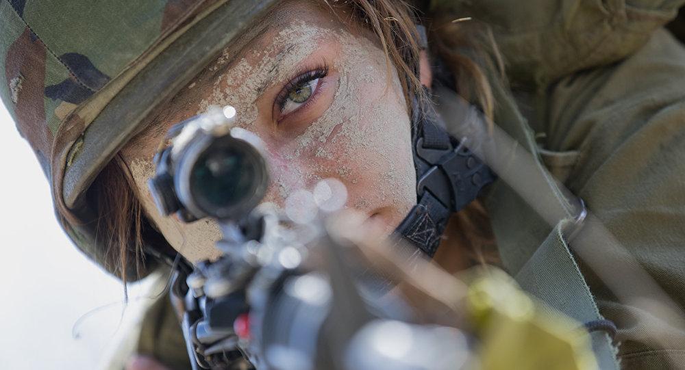 Uma soldado israelense