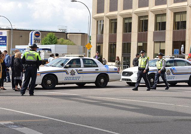 Polícia de Edmonton, Canadá
