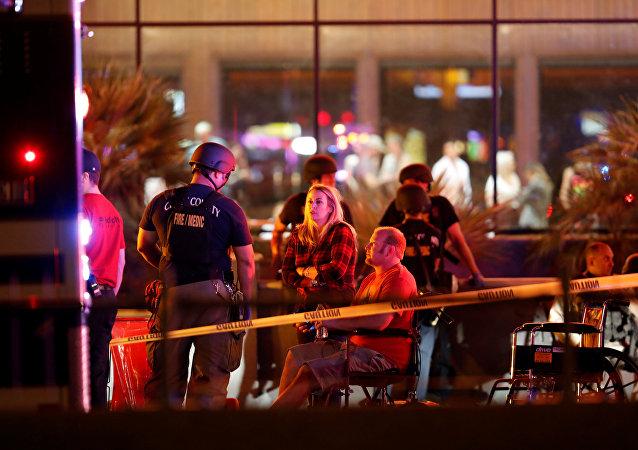 Situação em Las Vegas após tiroteio em 2 de outubro de 2017