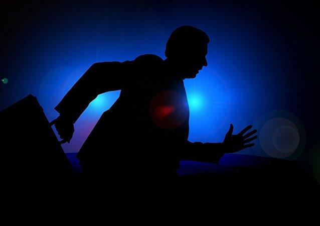 Fuga de um homem (imagem ilustrativa)