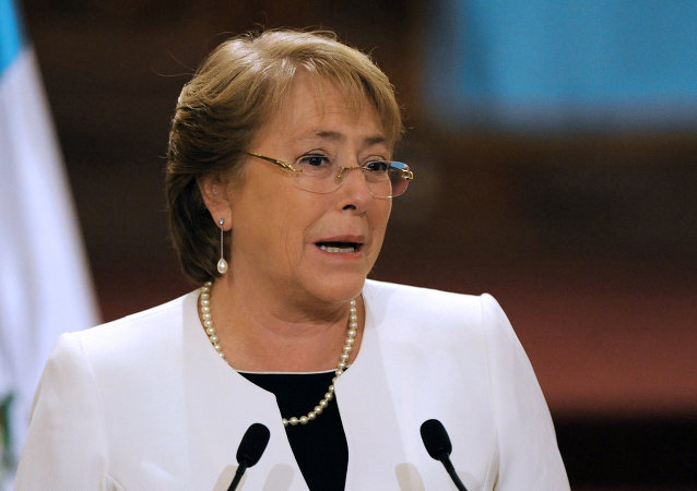 Michelle Bachelet, presidenta do Chile