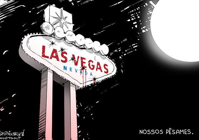 Massacre apaga as luzes de Las Vegas