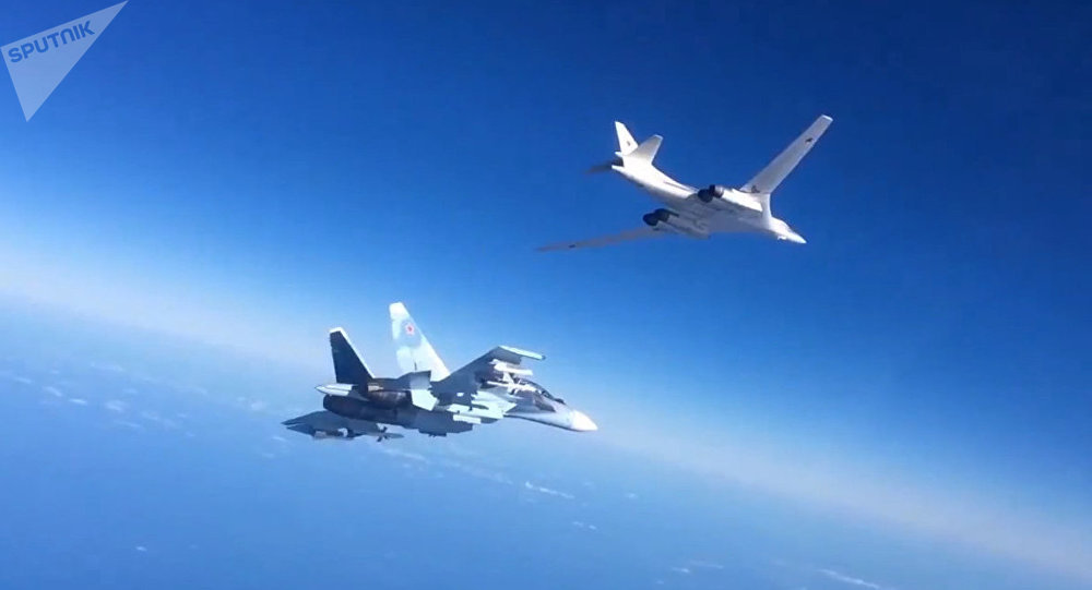 Caças da Força Aeroespacial da Rússia na Síria (foto de arquivo)