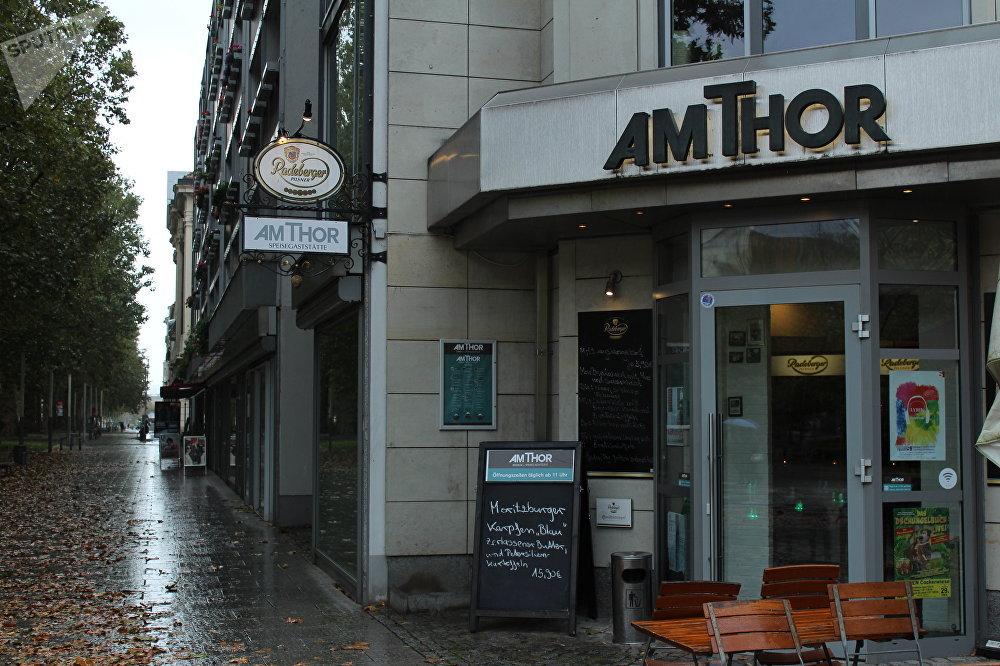 O restaurante Am Thor em Dresden