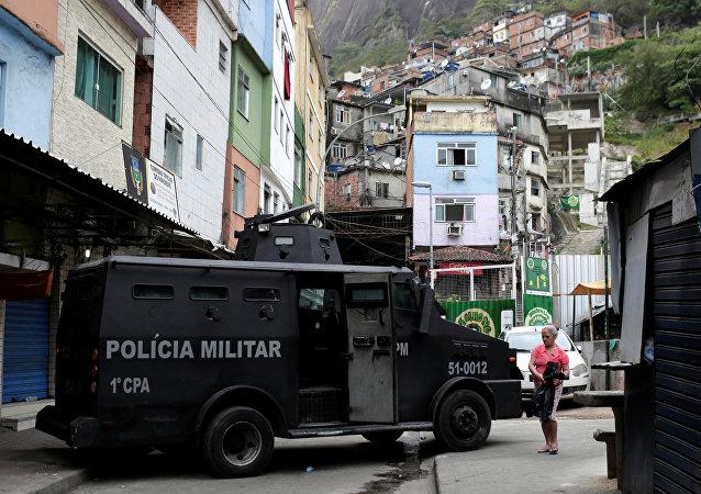 Situação na Rocinha, 2 de outubro de 2017