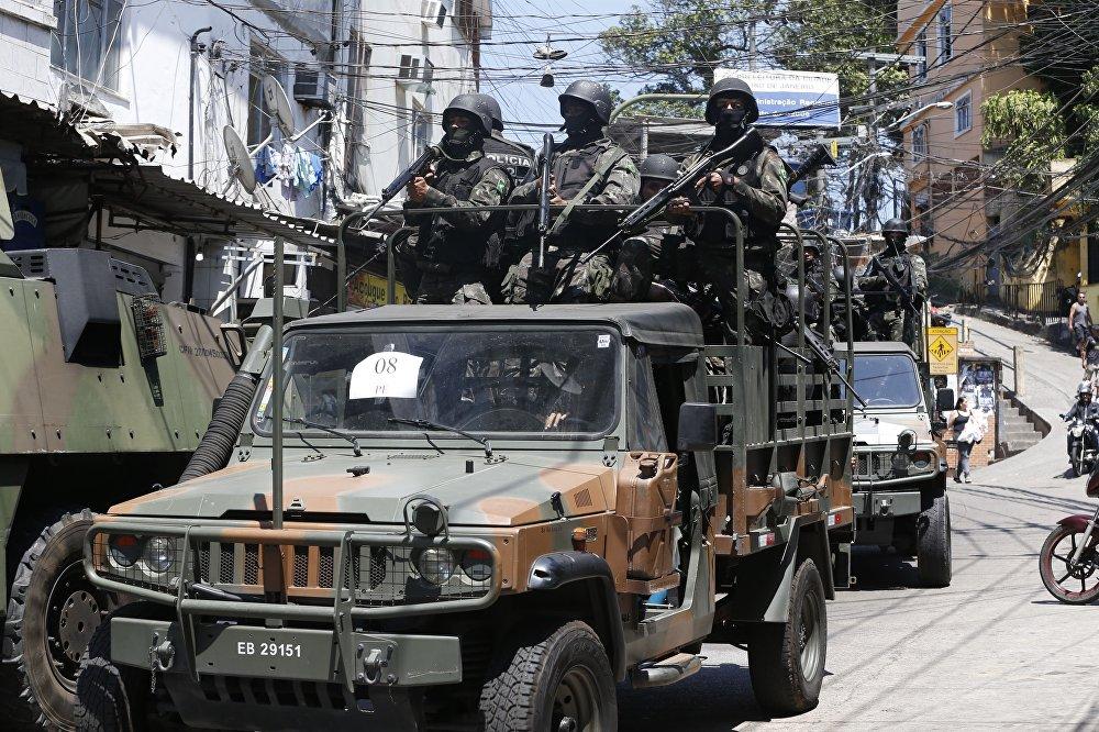 As Forças Armadas retornaram à Rocinha