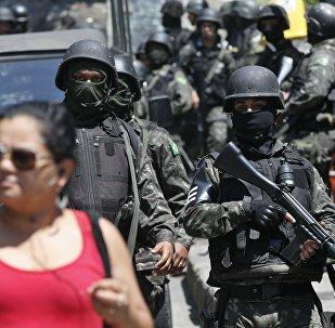 Exército na Rocinha