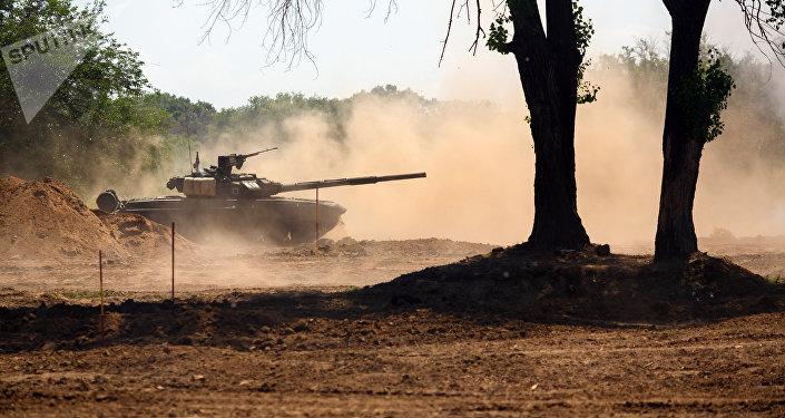 Tanque T-90 (foto de arquivo)