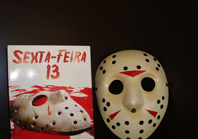 Símbolos dos filmes de terror norte-americanos Sexta-Feira 13