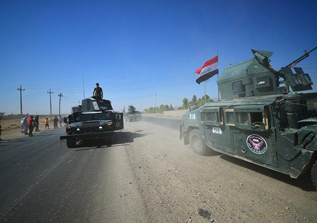 Forças iraquianas continuam a avançar em Kirkuk